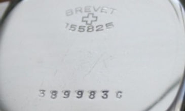 Helvetia Serial Number on Back of Case