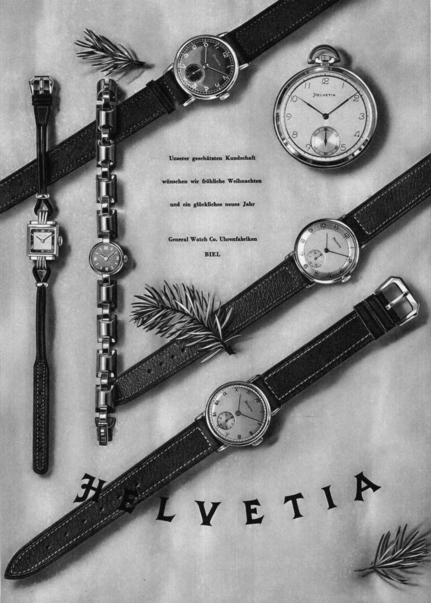 Helvetia Advertisement 1943
