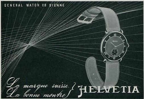 1940s Helvetia Advert