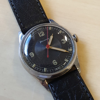 Helvetia 1930s Centre Seconds Sports Watch