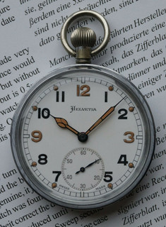 British Army GS/TP Pocket Watch