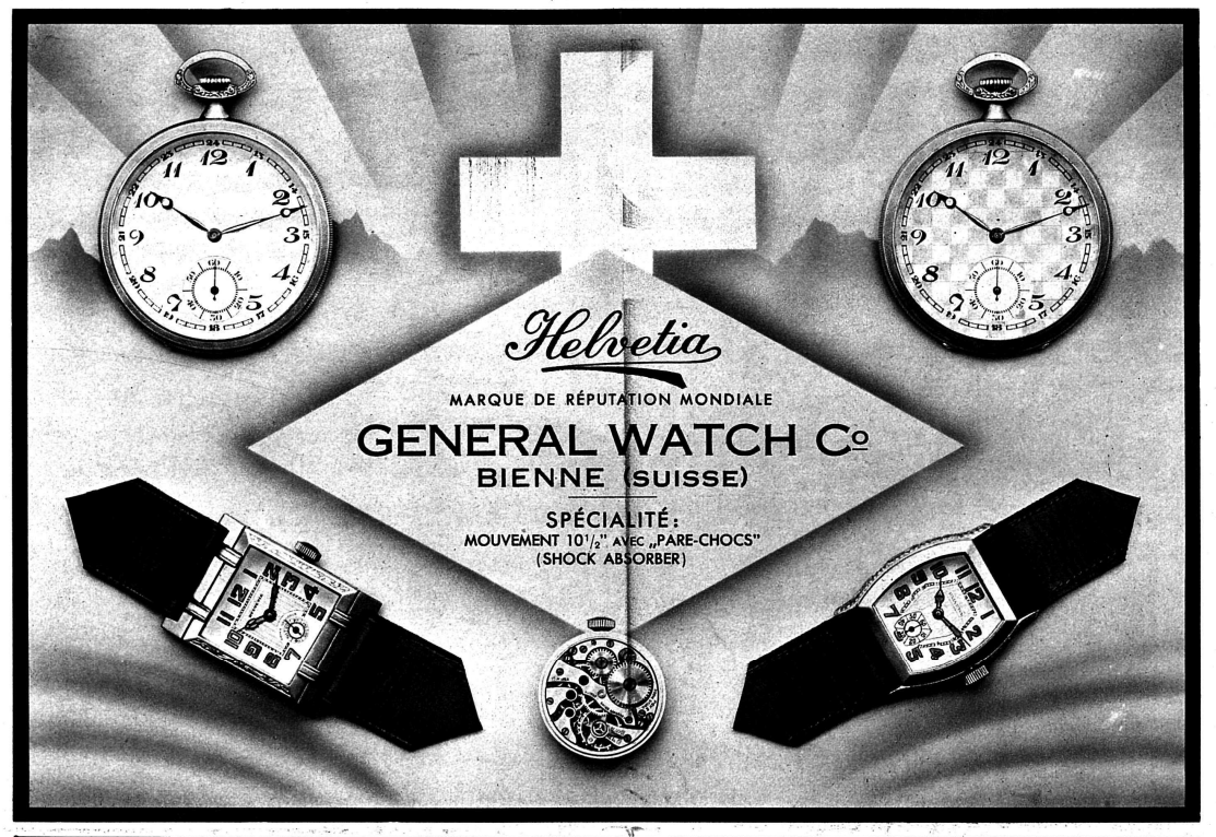 Helvetia Advertisement Circa 1930