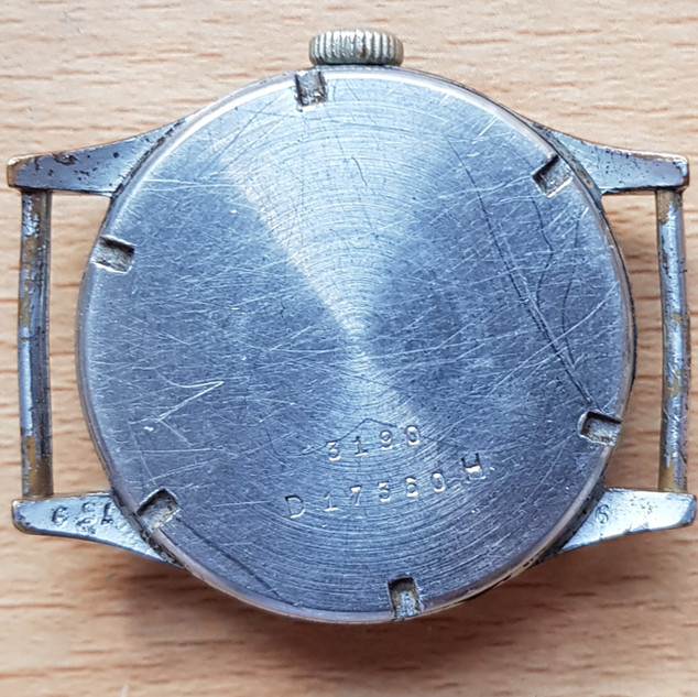 Type 2 DH Watch - Case Back