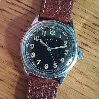 Helvetia Military Style Watch - Helbros