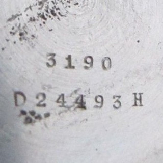 3190 Case & Type 3 DH Number