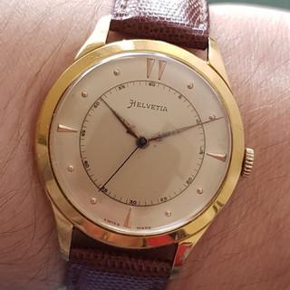 Helvetia Wristwatch 1953