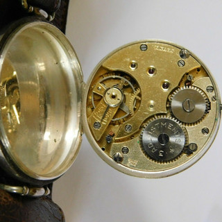 General Watch Co Trench Watch Movement - 1925