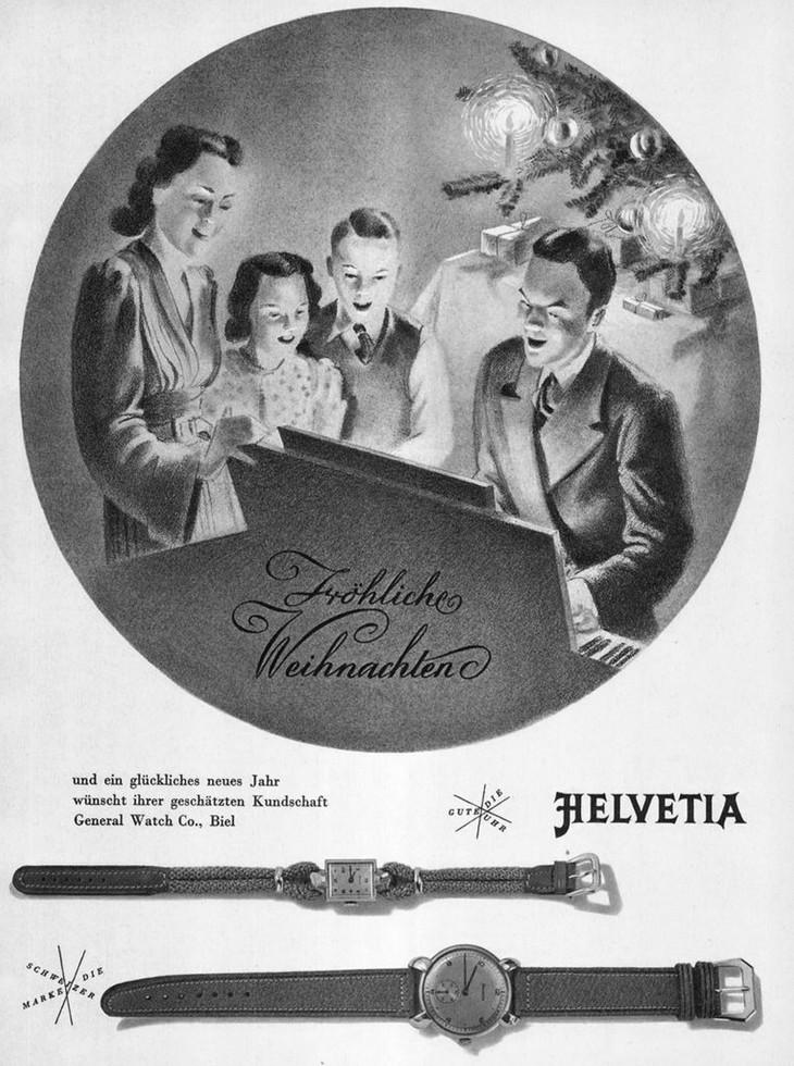 Helvetia Advertisement 1945