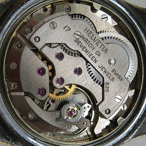 Helvetia 830 Watch Movement