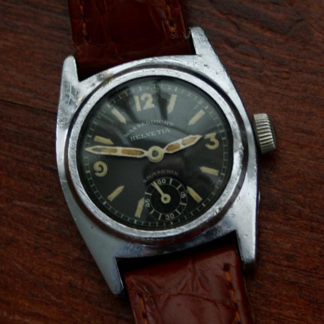 Helvetia Waterproof Watch - 1936