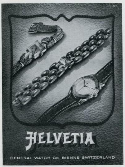 1950s Helvetia Advert