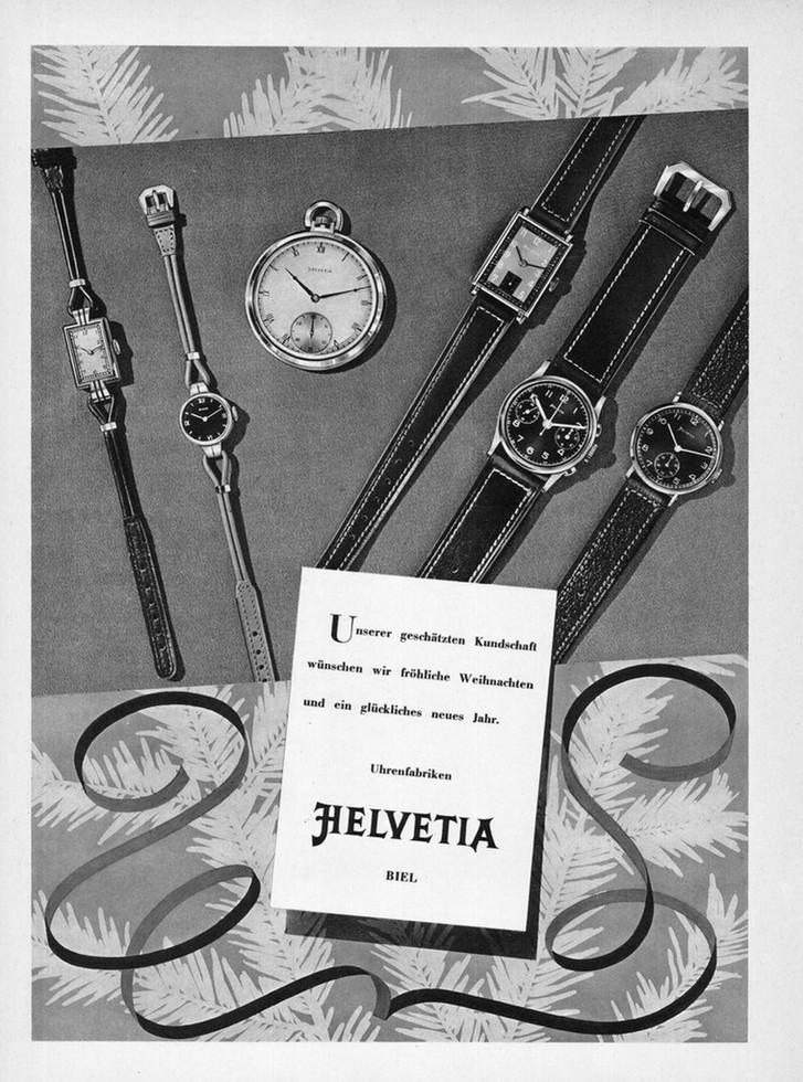 Helvetia Advertisement 1942