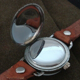 Outer Case Back - Helbros Watch Co
