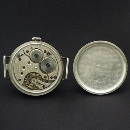 General Watch Co Movement and Case Back