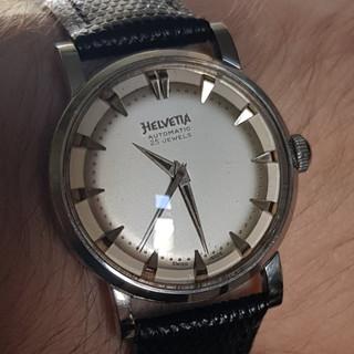 Helvetia Wristwatch 1955