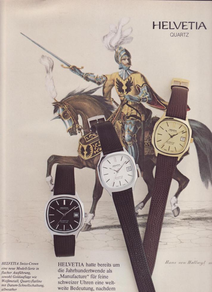 Helvetia Advertisement 1980