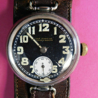 General Watch Co Trench Watch - 1925