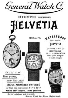 Helvetia Advert 1932