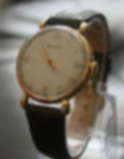 1940s 18K Helvetia Watch