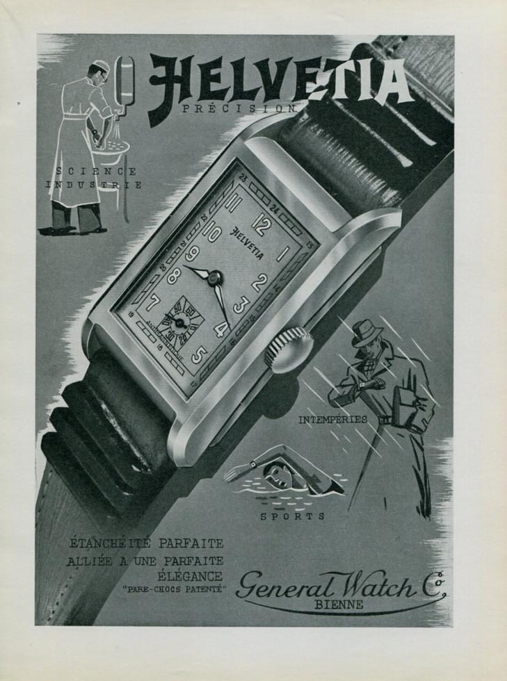 Helvetia Advertisement 1939
