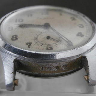 White Dial With 1007 Between Lugs