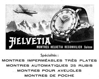 Helvetia Advert 1955
