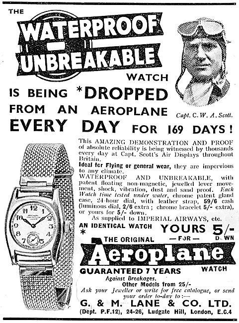 Aero Advert Circa 1936 1