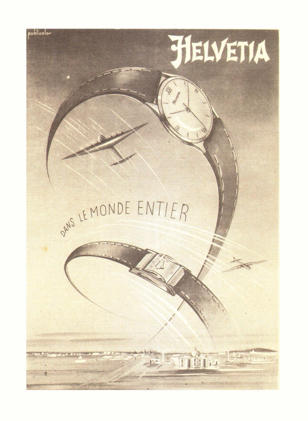 Helvetia Advertisement Circa 1950