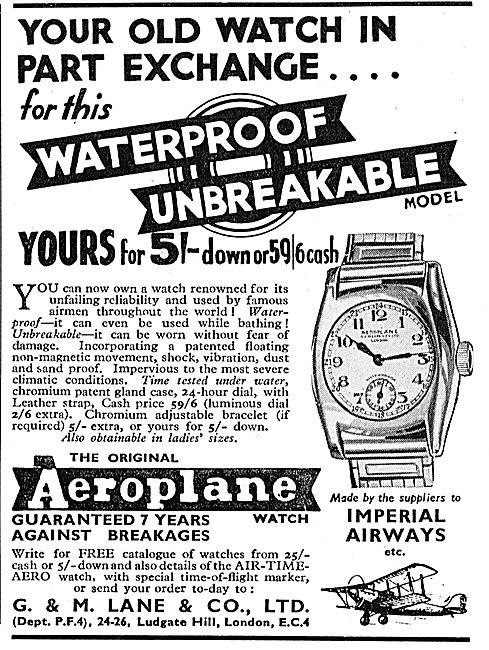 Aero Advert Circa 1937 1
