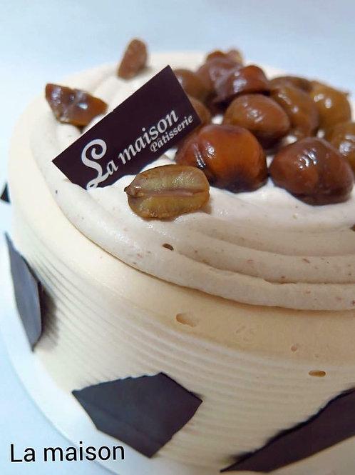 法式香栗蛋糕NT480(蛋奶素可)