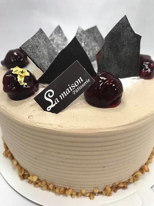 比利時巧克力蛋糕NT480(蛋奶素可)