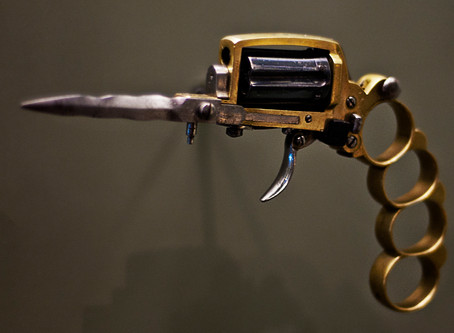 Apache Revolver: The MacGyver Weapon for a Woman of a Certain Age