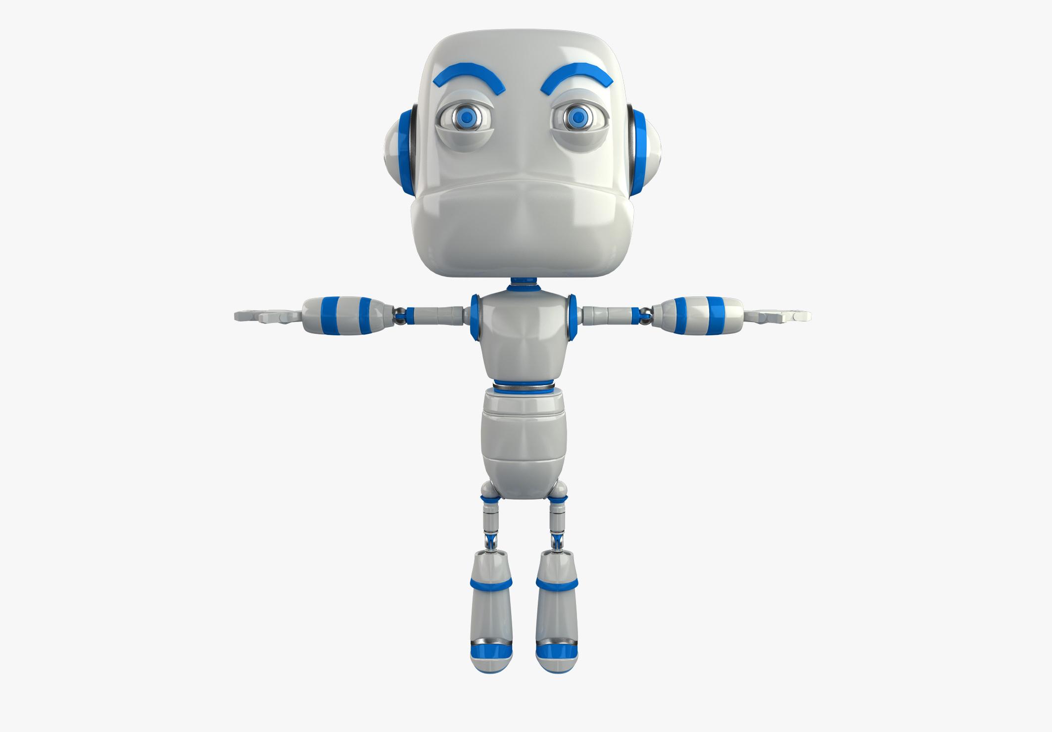 Cartoon Robot 2