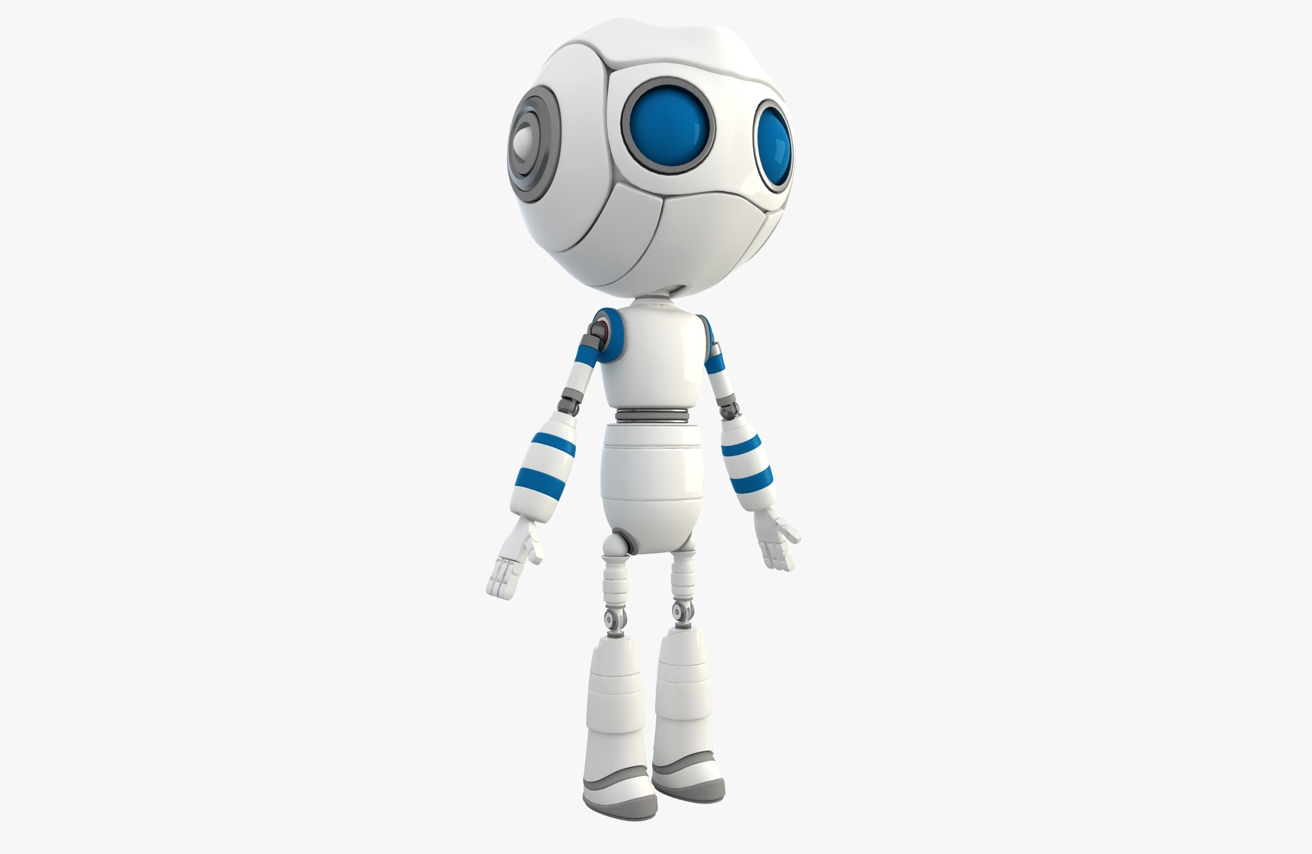 New Robot Character