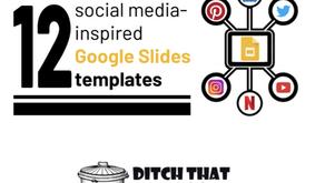 Social Media Slide Templates