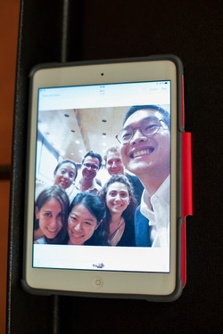 Selfie Time of BPA Students