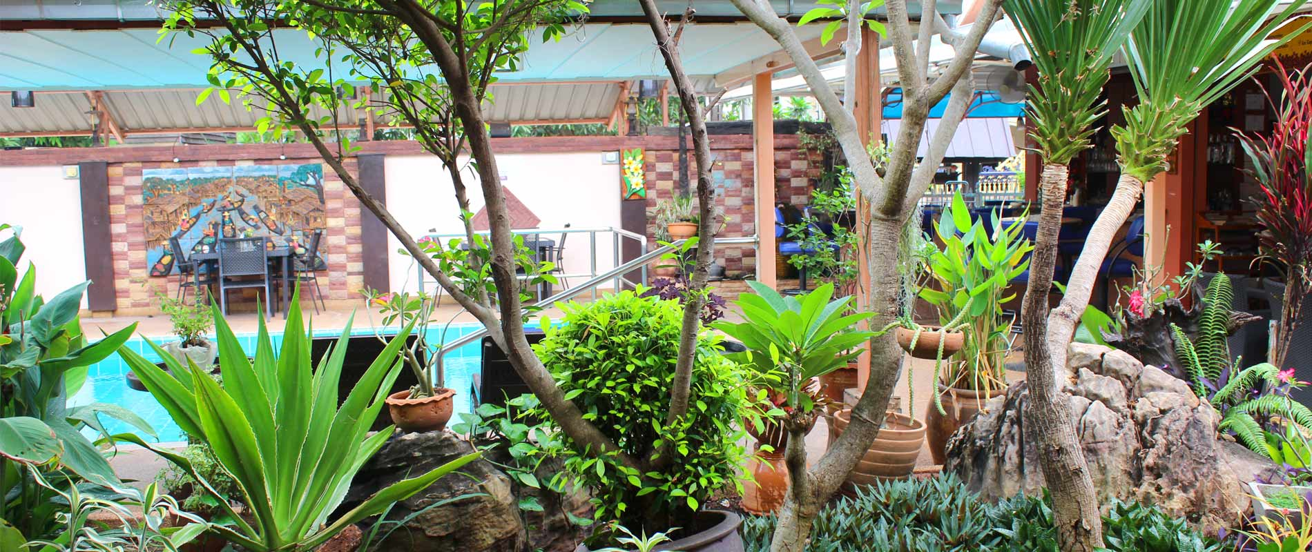 Udon Thai House Restaurant am Pool
