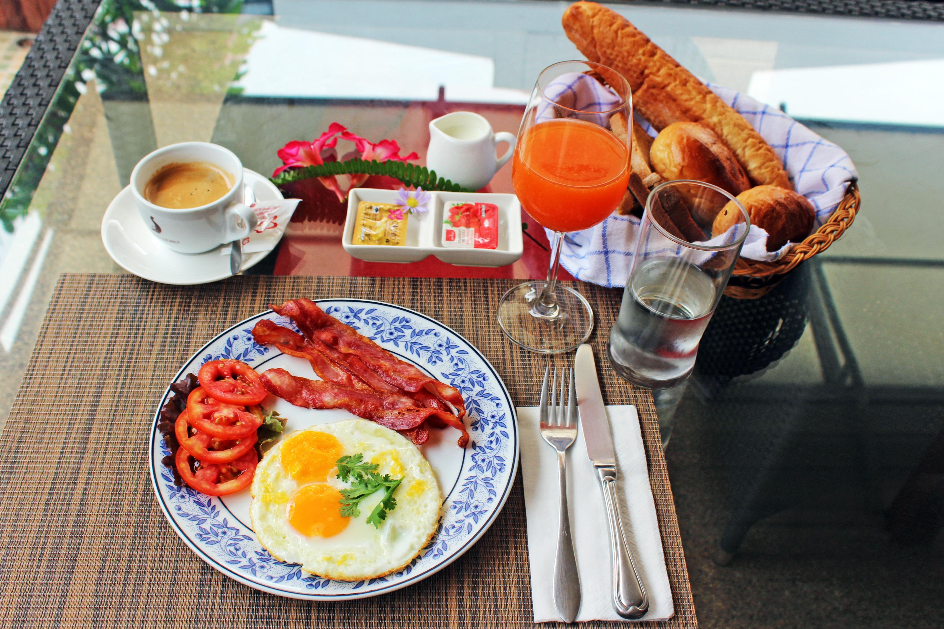 Udon Thai House Frühstück