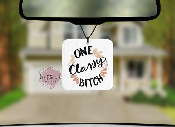 One Classy Bitch
