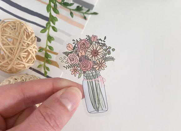 Clear Floral Bouquet