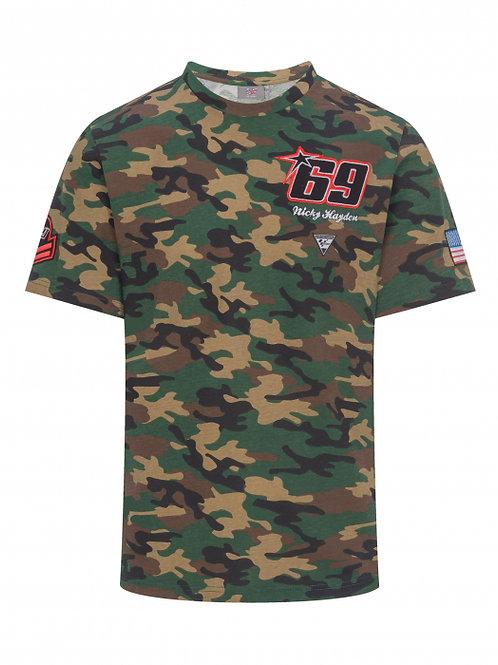 T-shirt Nicky Hayden - Camo