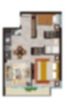 inmobiliaria innovavision Padre Jose Cifuentes Tipología 3