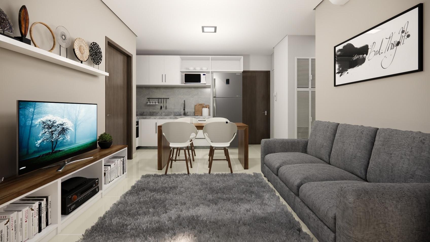 Dpto. 2 habitaciones