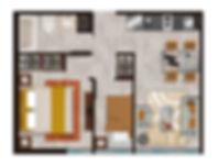 inmobiliaria innovavision Hipodromo Tipología 1