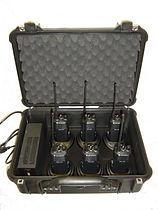 Walkie-Talkie Plug & Play Carry Case