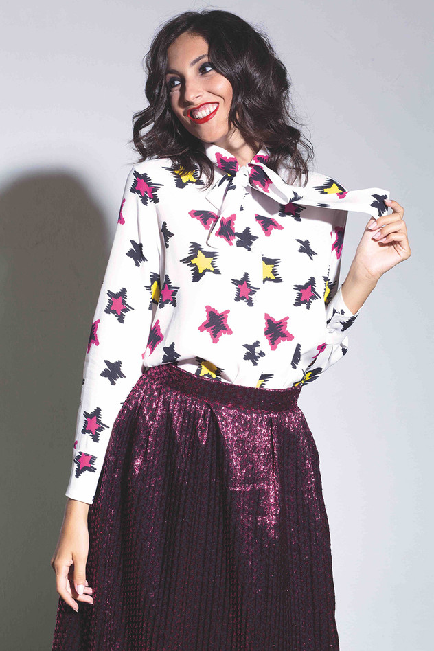 13a CAMICIA STELLE PAINT + GONNA NIGHT.j