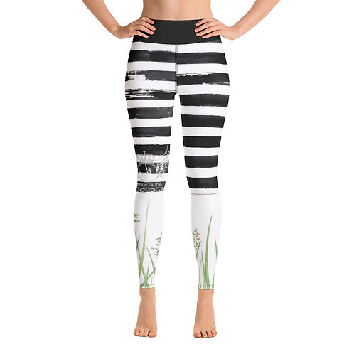 Yoga Leggings Racoon