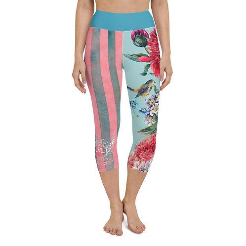 Yoga Queen Fiona Capri Leggings