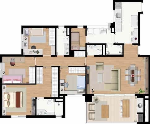 AGRA_Vista_Norte_PLANTA_Apartamento_Padr
