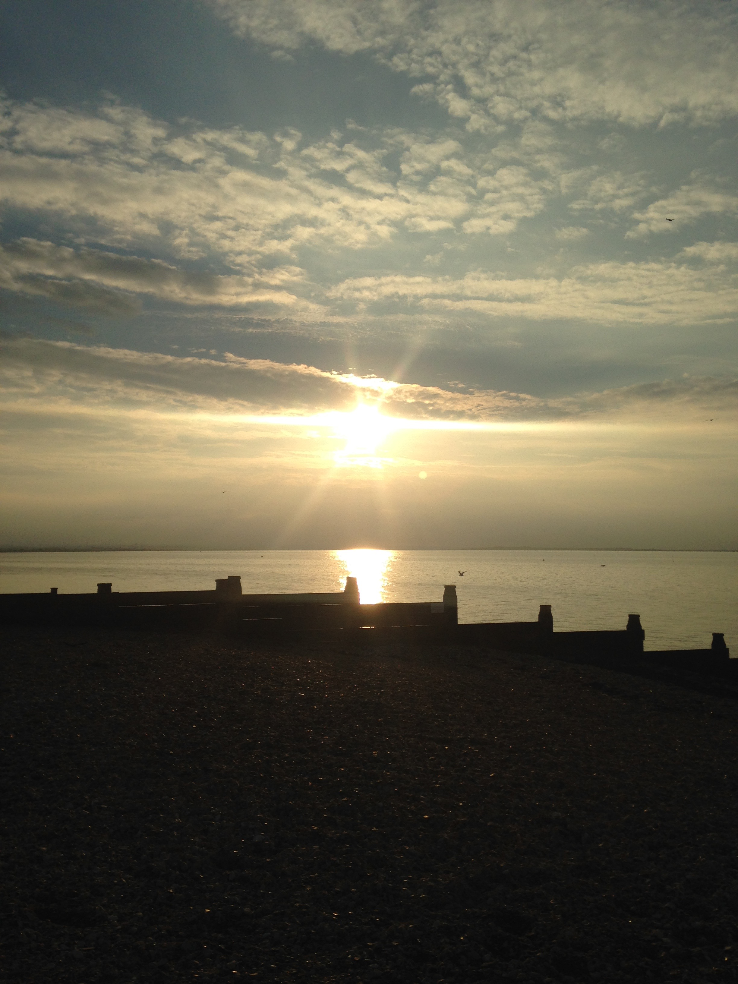 Sunsets over Whitstable 1